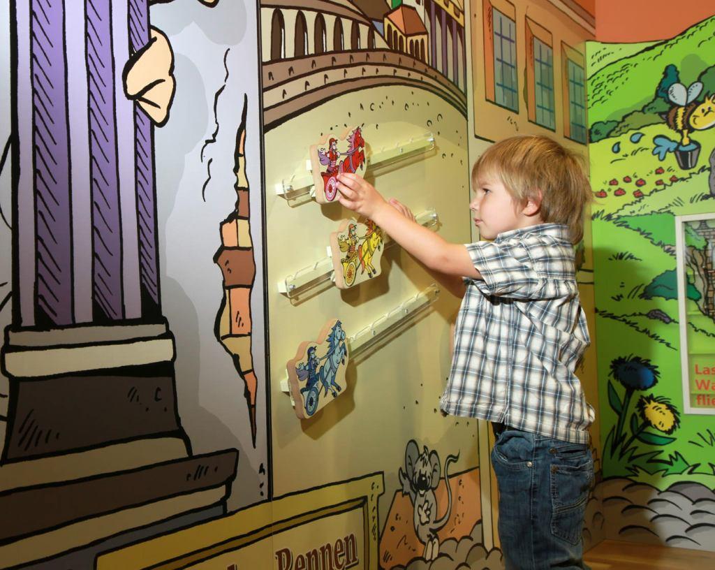 Kinderspielbereich im JUFA Kempten - Spielecke