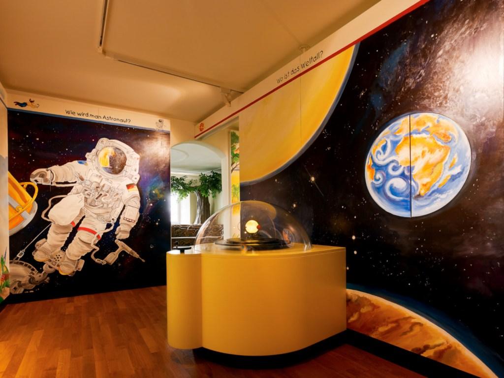Erlebniswelten, Museenerlebniswelten, Museum Ravensburger, Spacelab, Agentur Ravensburger