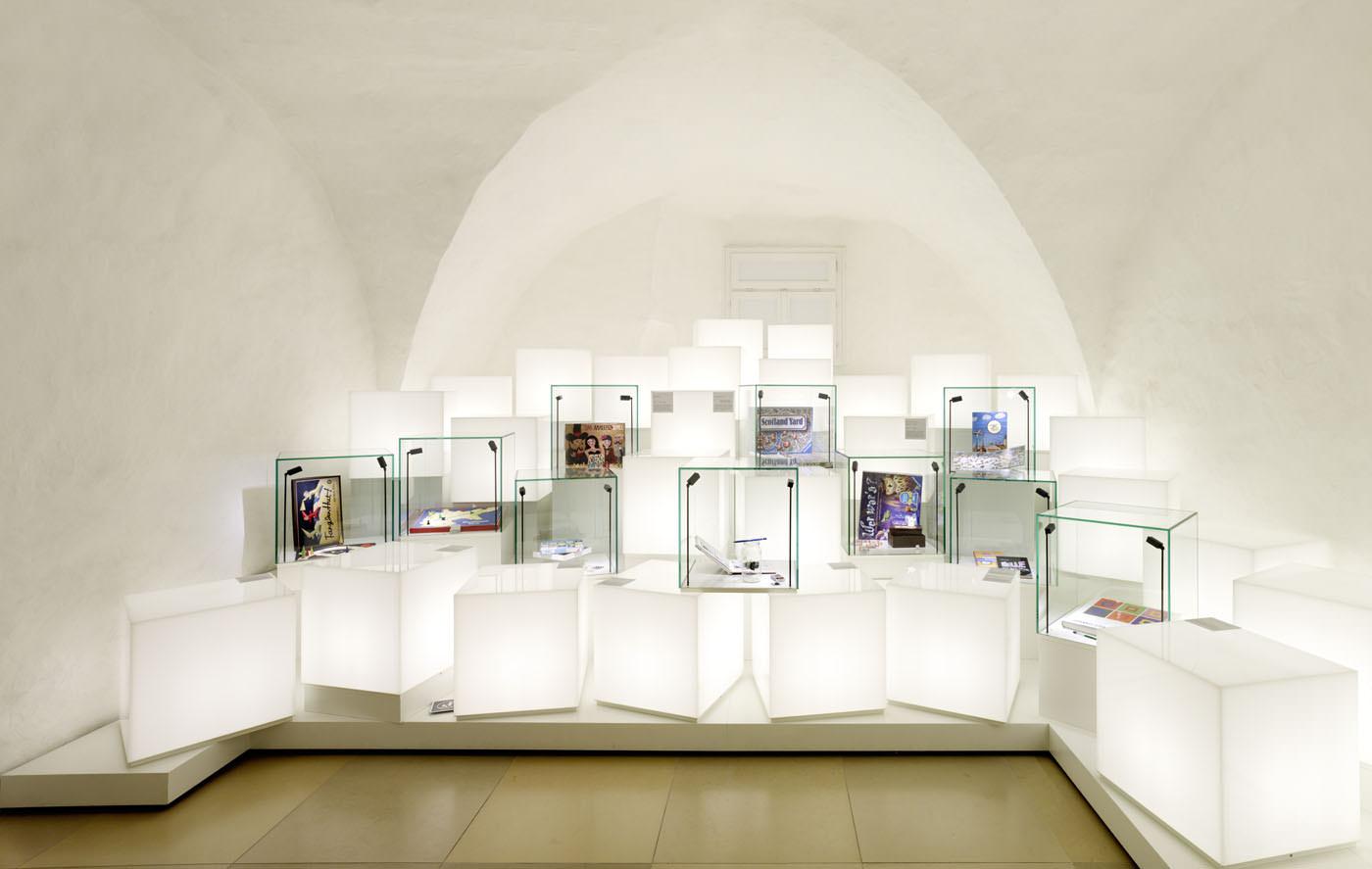 Erlebniswelten, Museenerlebniswelten, Museum Ravensburger, Schatzkammer, Agentur Ravensburger