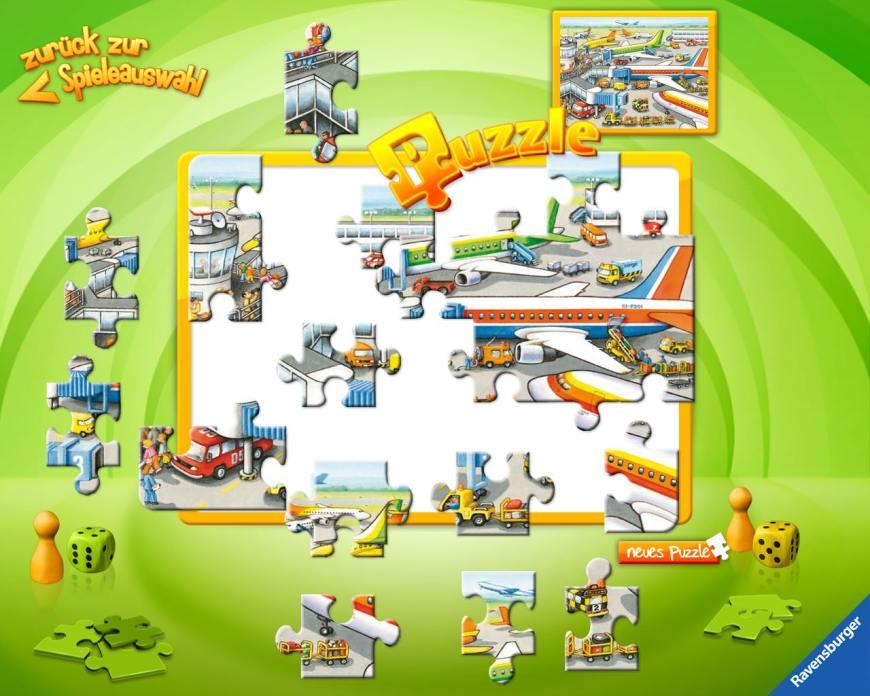 Übersicht der Kinder-Apps, Ravensburger, Kinder Touch Computer, Puzzle, Spiele,