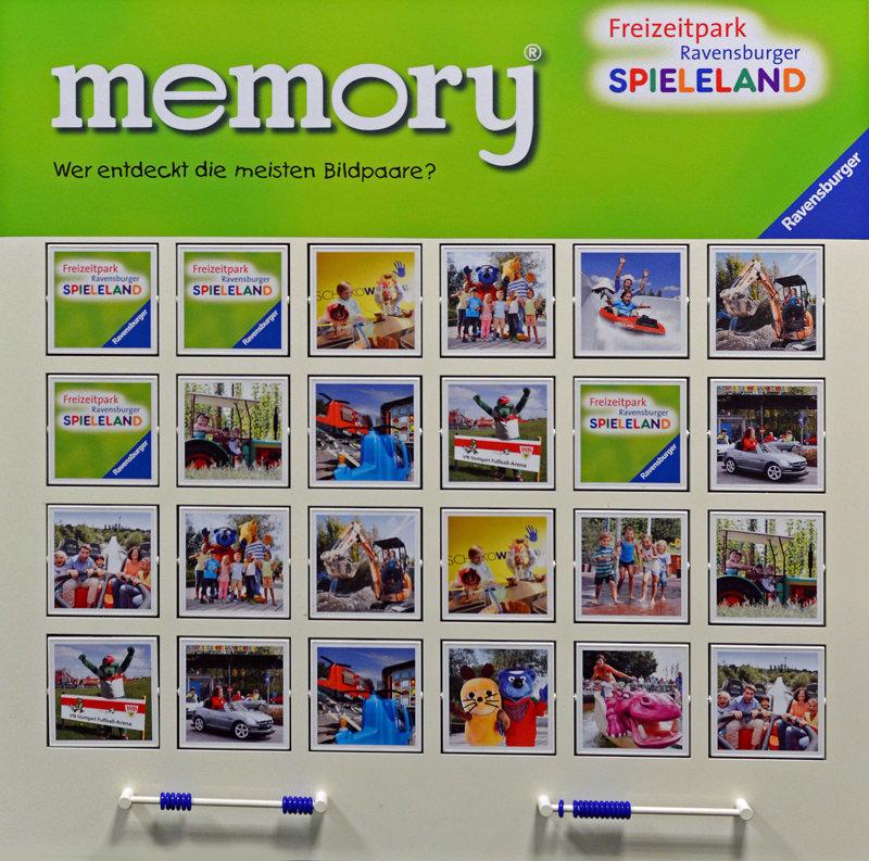 Individuelles Memory, Ravensburger, Wandspiel, Großspiel, Merken, Spiel, Memo, Spieleklassiker, Ravensburger Spieleland