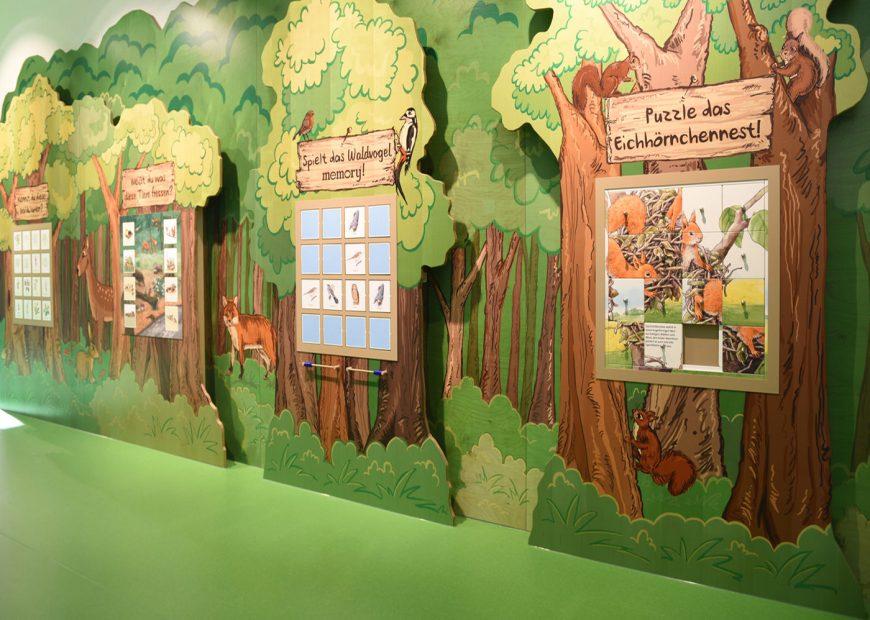 Spielecke für Hotel und Gastronomie - Pradas Resort Brigels - Ravensburger Naturwissenpfad