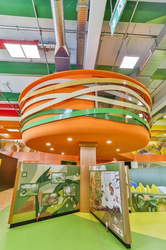 •Erlebniswelten - Kindererlebniswelten - Vogelnest und tiptoi®-Großspielmodule - Centrolino Kinderland - Centro Oberhausen