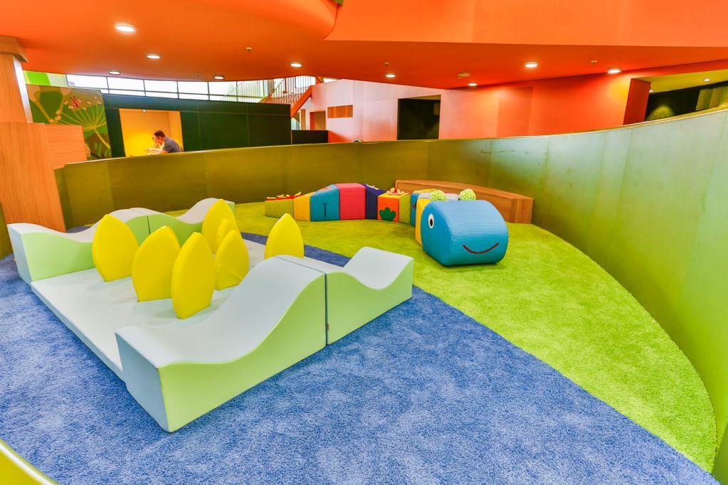 •Erlebniswelten - Kindererlebniswelten - Kleinkindbereich mit Ministepraupe - Centrolino Kinderland - Centro Oberhausen