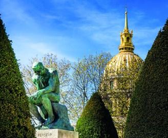 Paris, le Penseur, Rodin