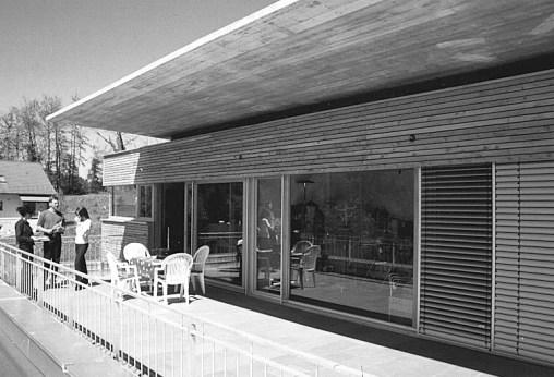 Einfamilienhaus Amberggasse, Feldkirch © Bauart