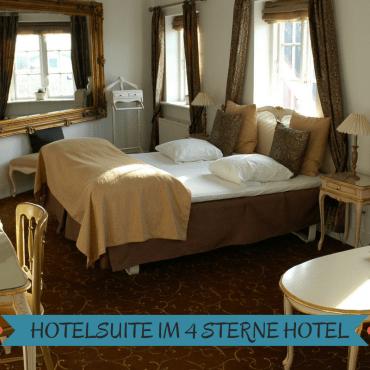 Hotelsuite im 4 Sterne Hotel