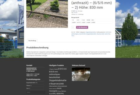 Zaunfachmarkt24 Onlineshop