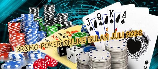 Promo Permainan Poker Online Bulan Juli 2018