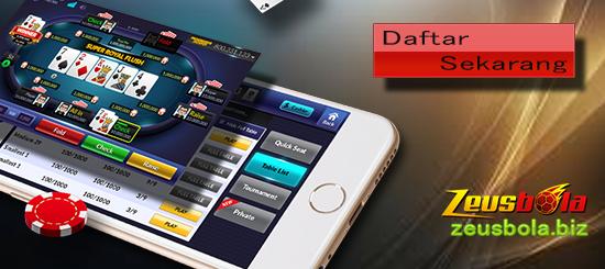 Bermain Judi Poker Online Pulsa Di Smartphone