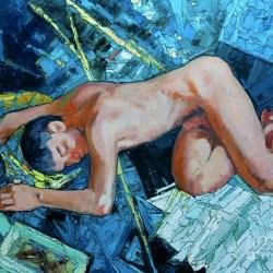 酷藝術:俄羅斯色塊男體藝術家 「瑟蓋 索夫卡」