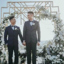 同志婚礼:菲律宾知名设计师 浪漫同志婚礼