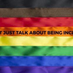 酷新闻:六色彩虹旗加两色?同志团体发起活动吁种族包容