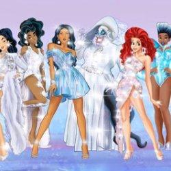 酷影像:迪士尼公主 化身變裝皇后 變身性感辣妹