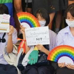 酷新聞:泰國學生首辦「同志驕傲大遊行」