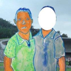 H.I.P 涂鸦簿:那一天我和我男朋友,一起走在路上跌倒了