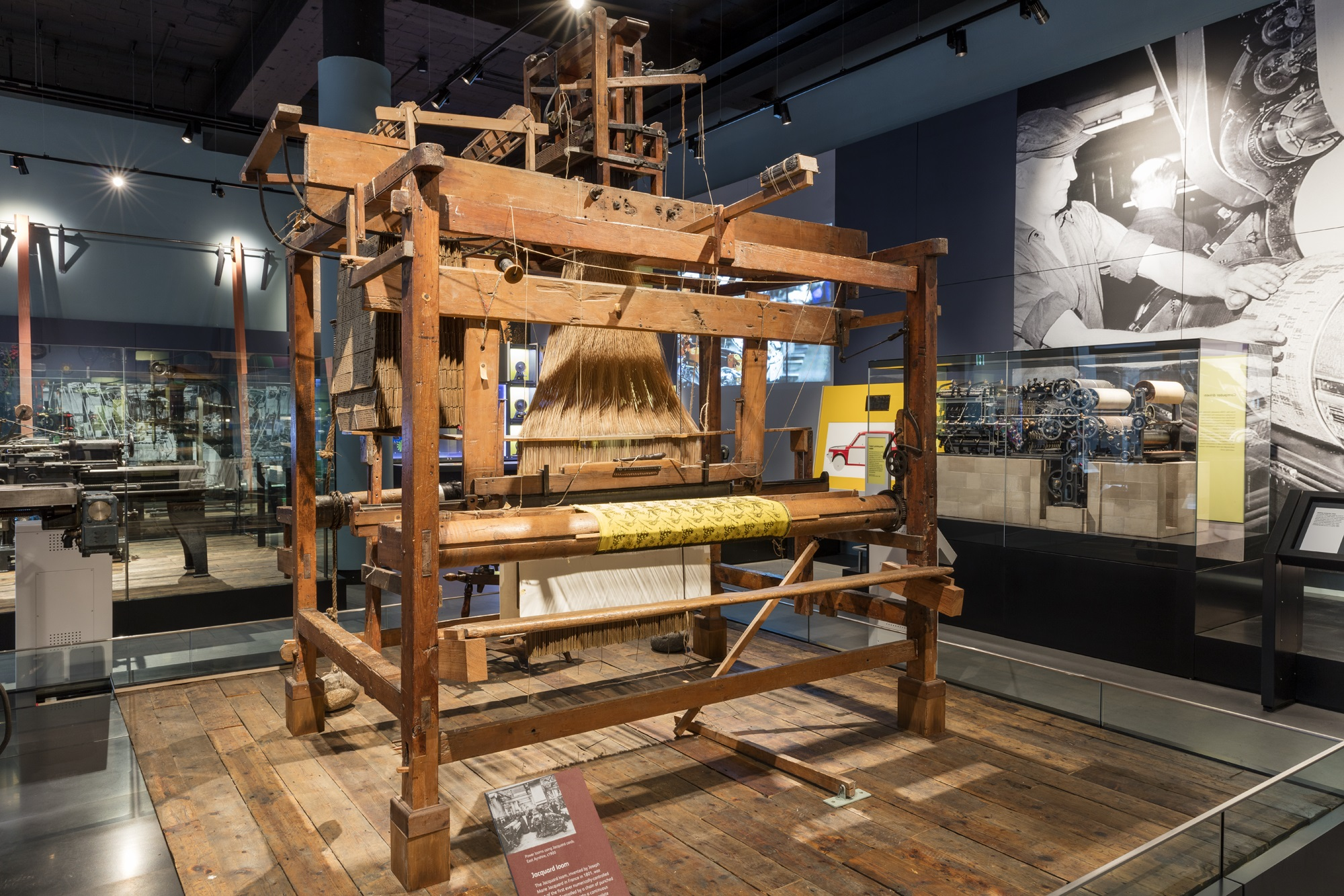 Jacquard Loom Age Of Revolution
