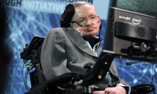 Stephen Hawking warned about the perils of artificial intelligence – yet AI gave him a voice