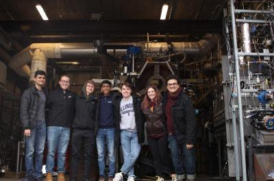 Student research team develops hybrid rocket engine
