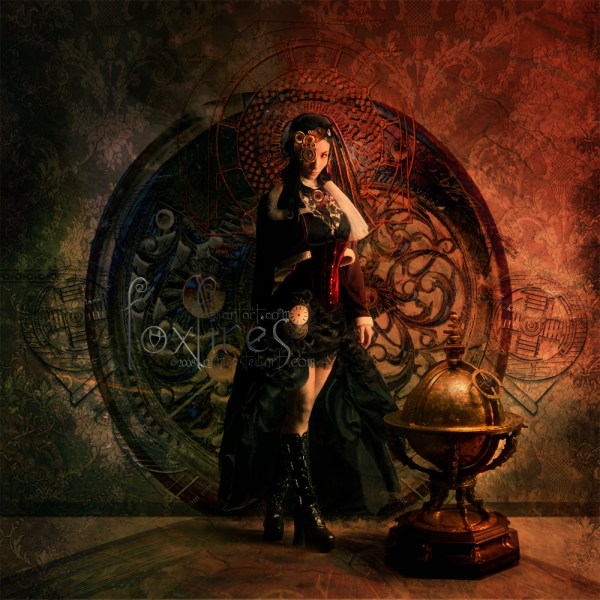 Steampunk Music And Art Linked Gears Steamed