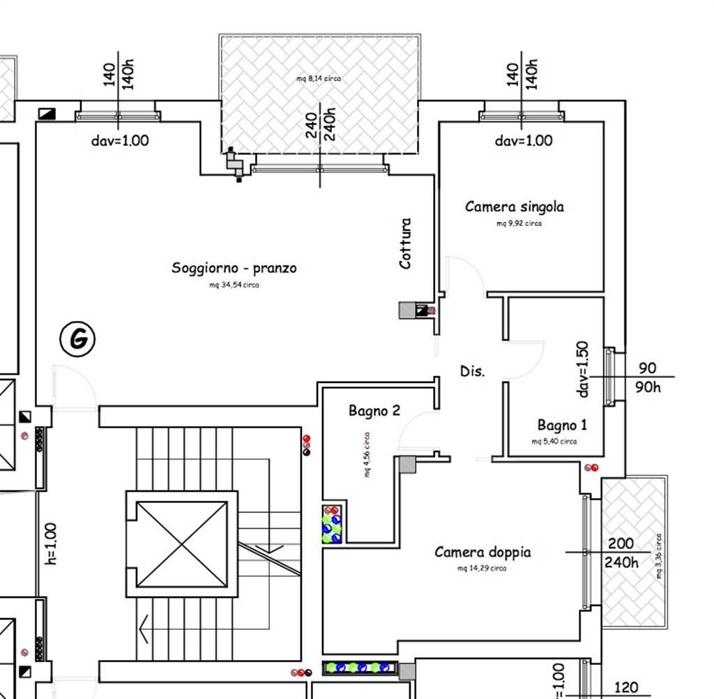 Wohnung In Verkauf In Lentate Sul Seveso (Monza Brianza) - Hin. B-G