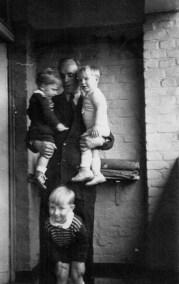 Heinz Agethen und Reinhold als Kinder