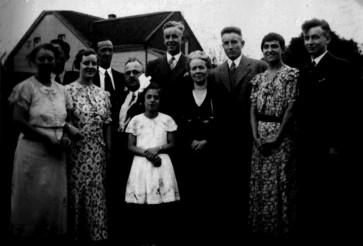 Uralt-Familienbild