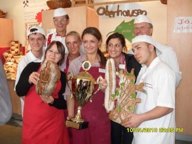 Bäckerinnung Rhein-Ruhr Azubi Cup Sieger