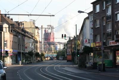 Duisburg Beeck - Stadtteilfoto