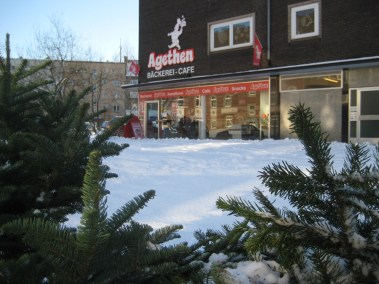Schnee bei Agethen, Kardinal-Galen-Straße