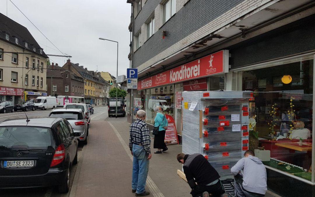 In Duisburg – Beeck geht es heiß her in diesen Tagen – wir tauschen den Ofen!