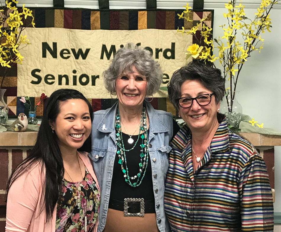 joy-collins-spotlight-new milford senior center