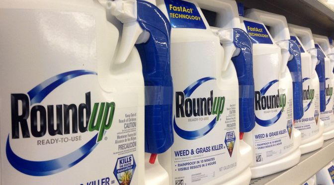 Industry-in-Brief: Monsanto Files Lawsuit Over Roundup's Carcinogen Label, NZ Considers Cannabis Legalization, more