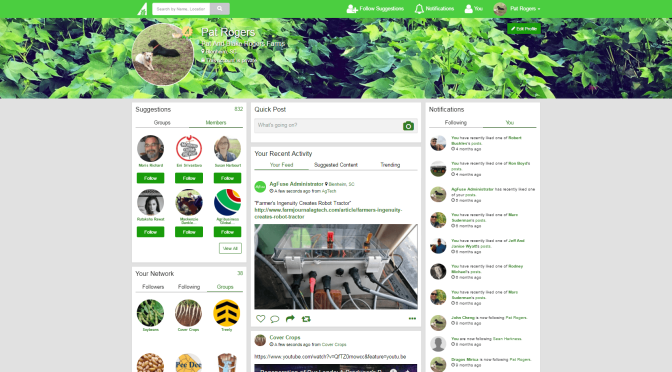 social network for farmers