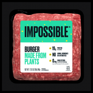 Image courtesy of Impossible Foods