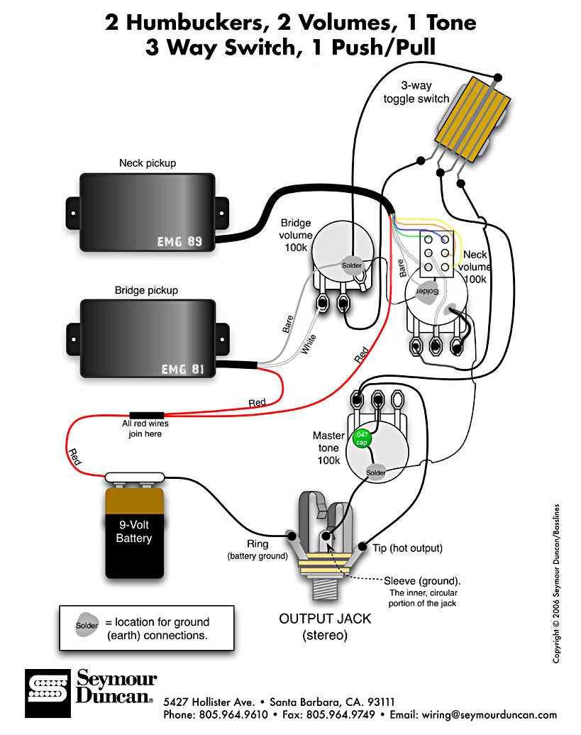 emg select pickup wiring diagram directv swm power inserter zakk wylde solderless wiring-diagram ~ odicis