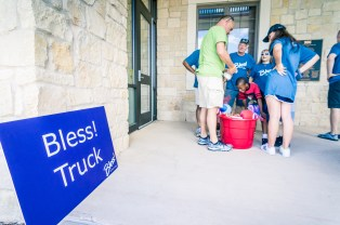 Bless A Life Serve Day, Gateway Church Frisco, June 2016, Bless! Truck, Frisco Texas