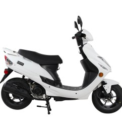 white chicago scooter company go  [ 3000 x 3000 Pixel ]