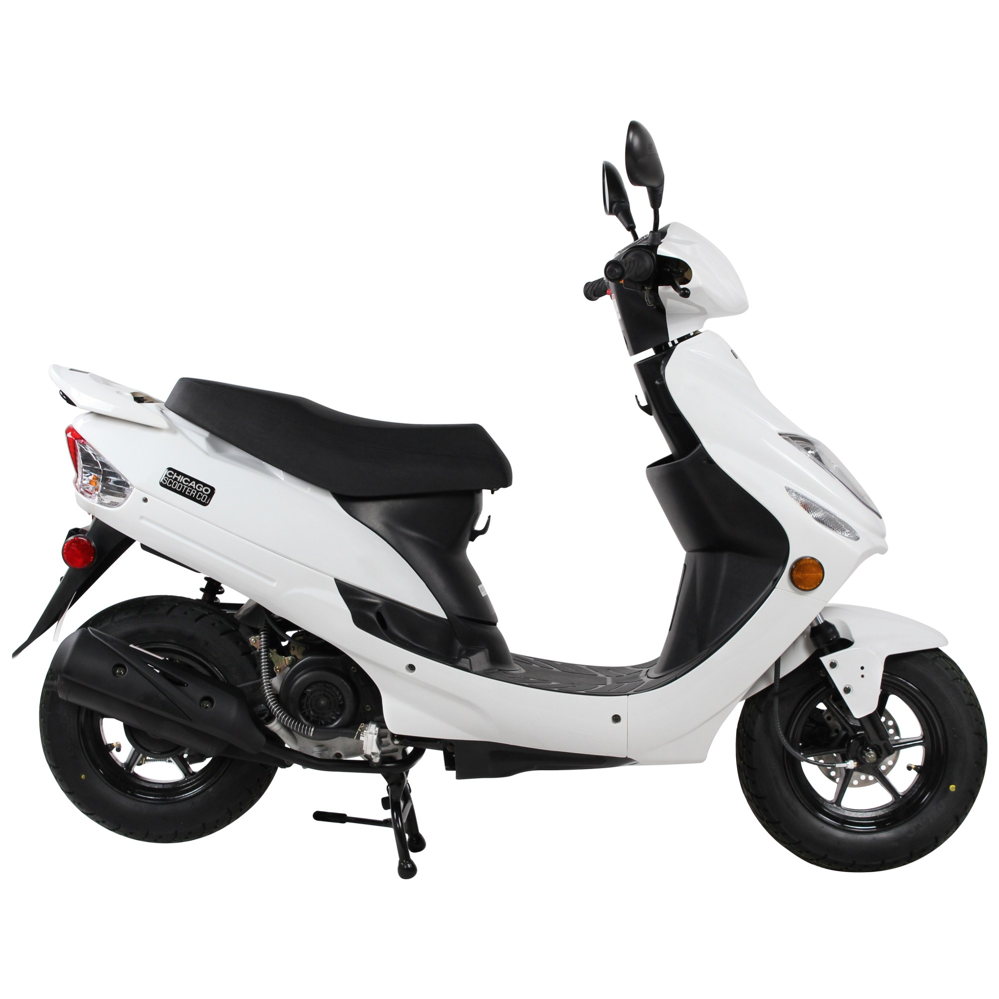 hight resolution of  white chicago scooter company go