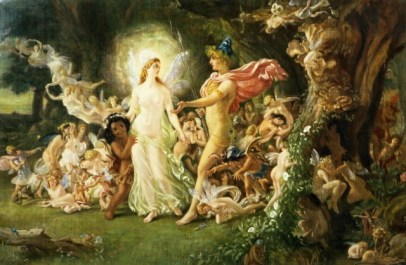 The mixed-up lovers, shakespeare A midsummer night's Dream, free readers