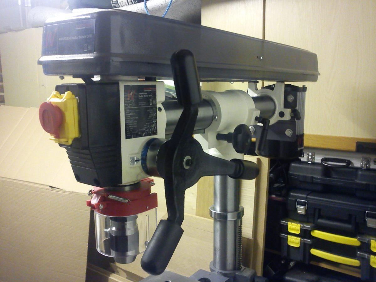 Axminster Awbrd550 Bench Radial Drill