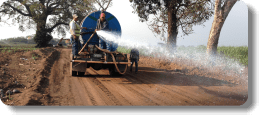 AggreBind Soil stabilization application