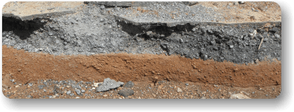 Pre soil stabilization analysis for AggreBind