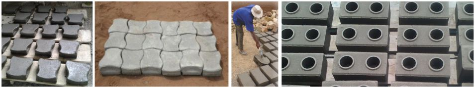 AggreBind soil stabilized bricks