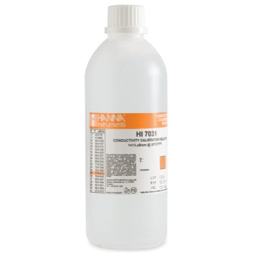 Hanna 1413µS/cm Conductivity Standard – 500mL