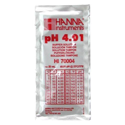 Hanna 4.01 pH Buffer Solution – Sachet