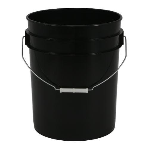 Black Plastic Bucket