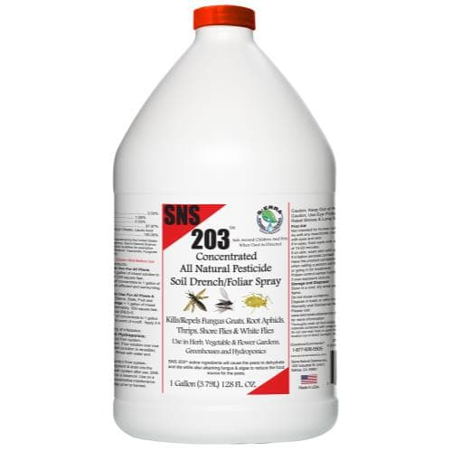 SNS 203 – Pesticide Soil Drench/Foliar Spray Concentrate