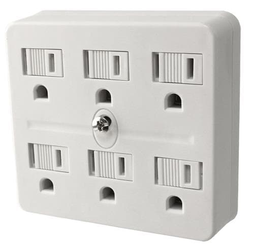 6 Outlet Adapter