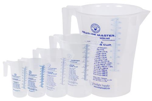Measure Master Graduated Round Containers